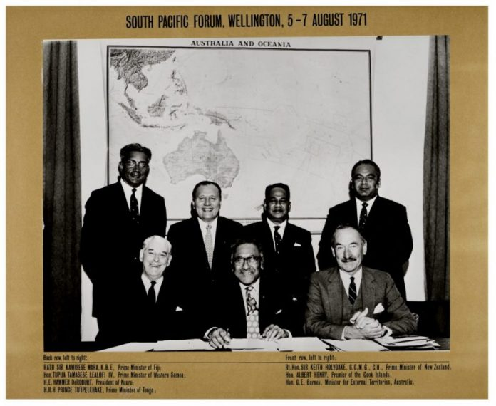 The-first-meeting-of-the-South-Pacific-Forum-in-Wellington-in-1971