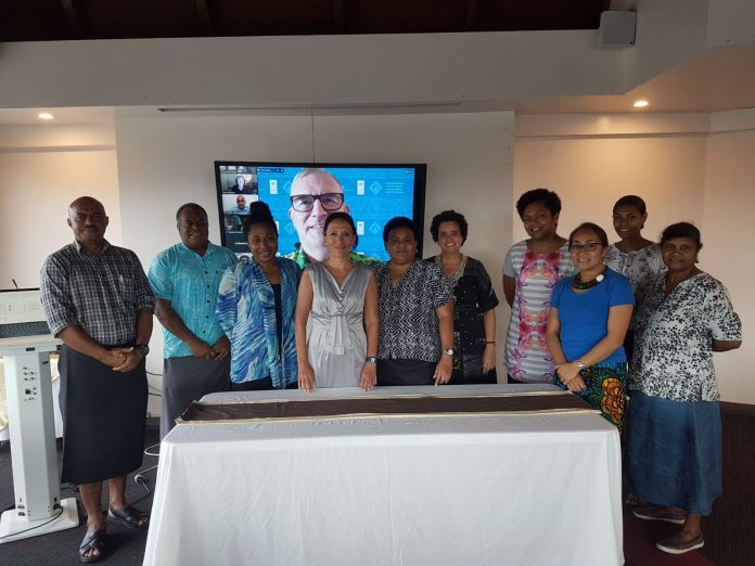 Fiji journalists at the PACJN webinar on Whistleblowing