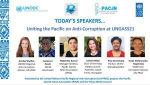 UNPRAC/PACJN webinar