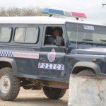 PNG Police vehilce