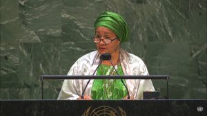 UN Deputy SG, Amina Mohamed