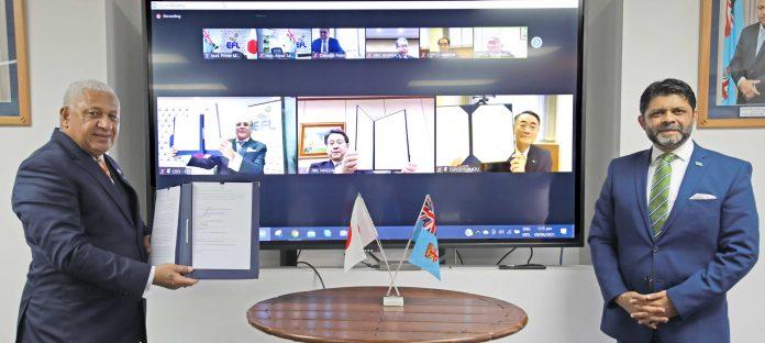 Fiji PM Bainimarama
