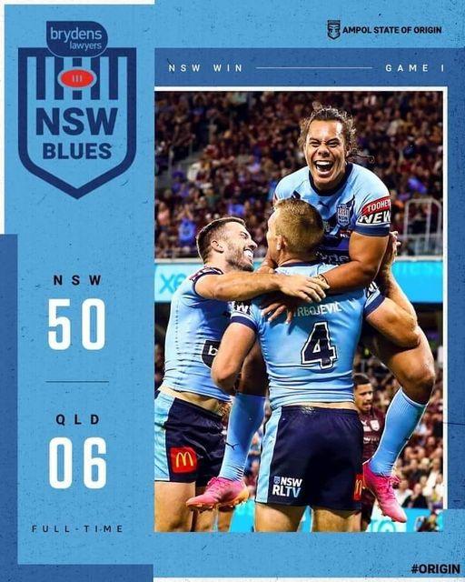 NSW Blues win