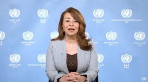 UNODC Executive Director, Ghada Waly