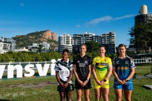 Women's team captains Photo: Oceania Rugby