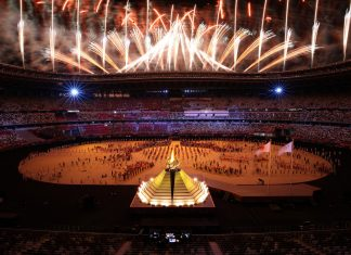 Tokyo 2020 begins. Photo: Getty Images